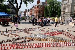 the foodbank installation