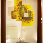 Sunflower installation - Denise Swanson