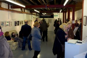 Oxheys Winter exhibition 2012 - Private View