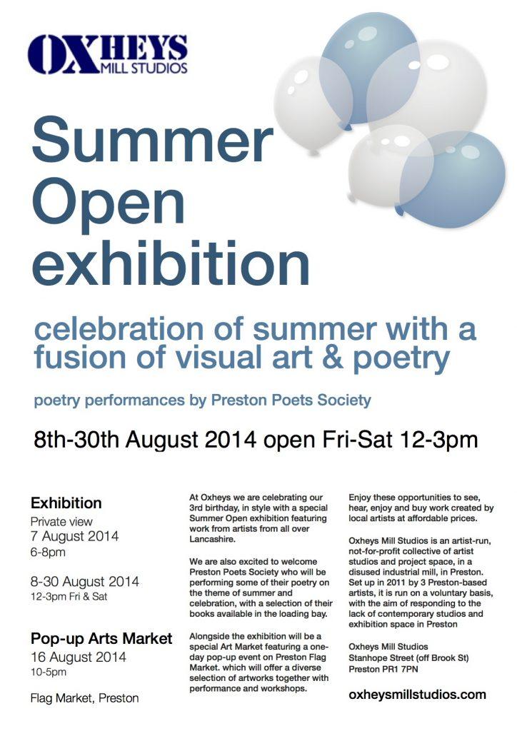 Summer 2014 Open poster