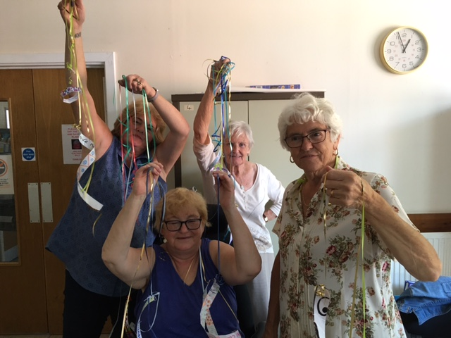 Bernie ran two community workshops with Farringdon Park Community Centre Over 50's group